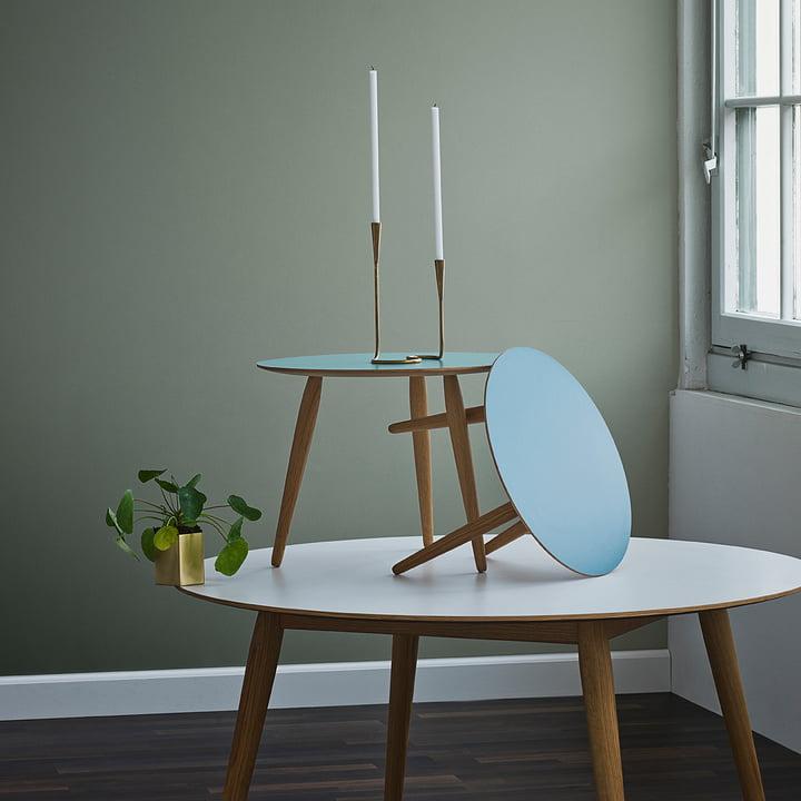 Play Round Laminate Tische von bruunmunch