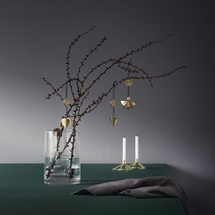 Tangle Stern Kerzenhalter mit Nordic Ornamenten