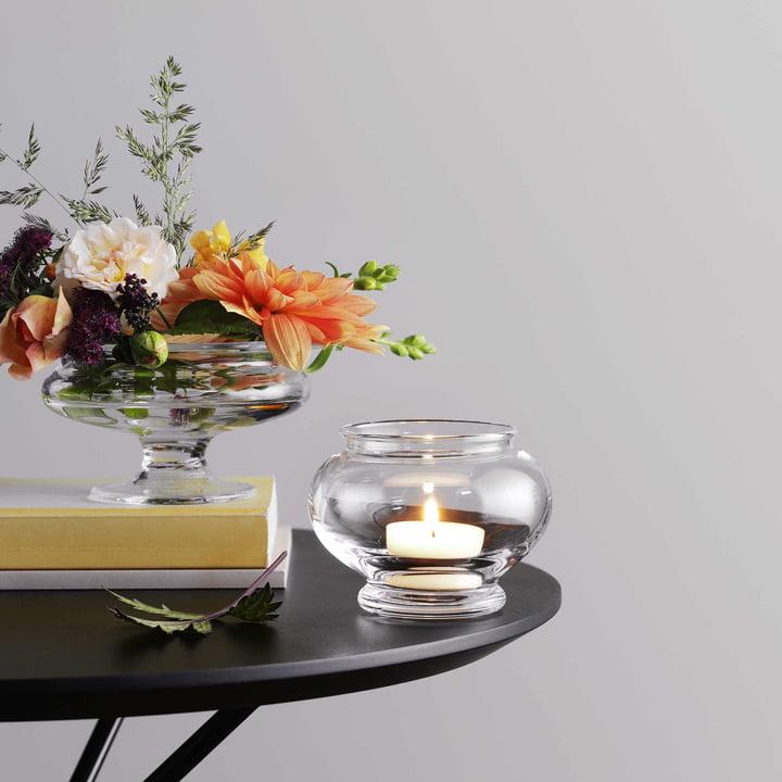 Old English Teelichthalter von Holmegaard