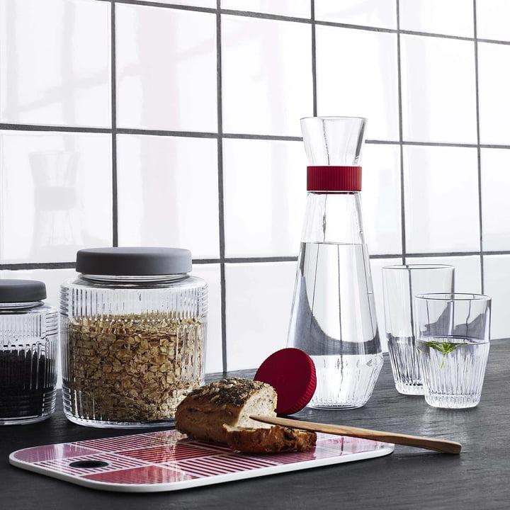 Nanna Diezel Kollektion und Wasserkaraffe mit Glas