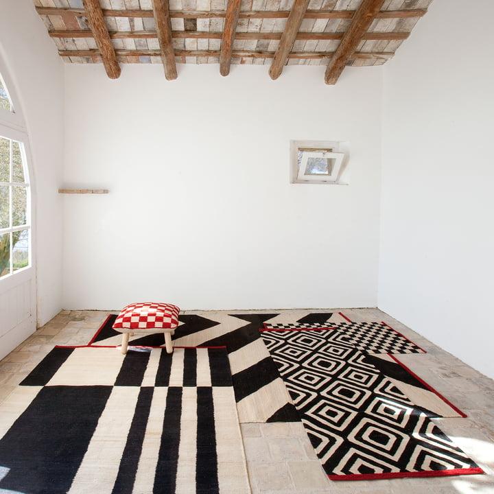 nanimarquina - Mélange Zoom / Stripes / Pattern / Pouf