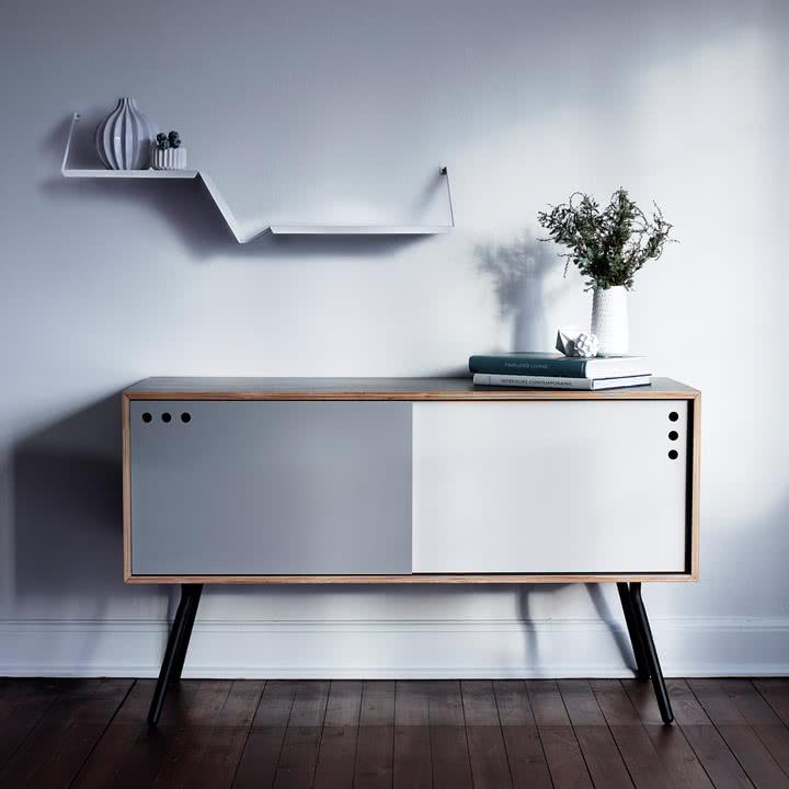 Fold Shelf mit zwei Ebenen