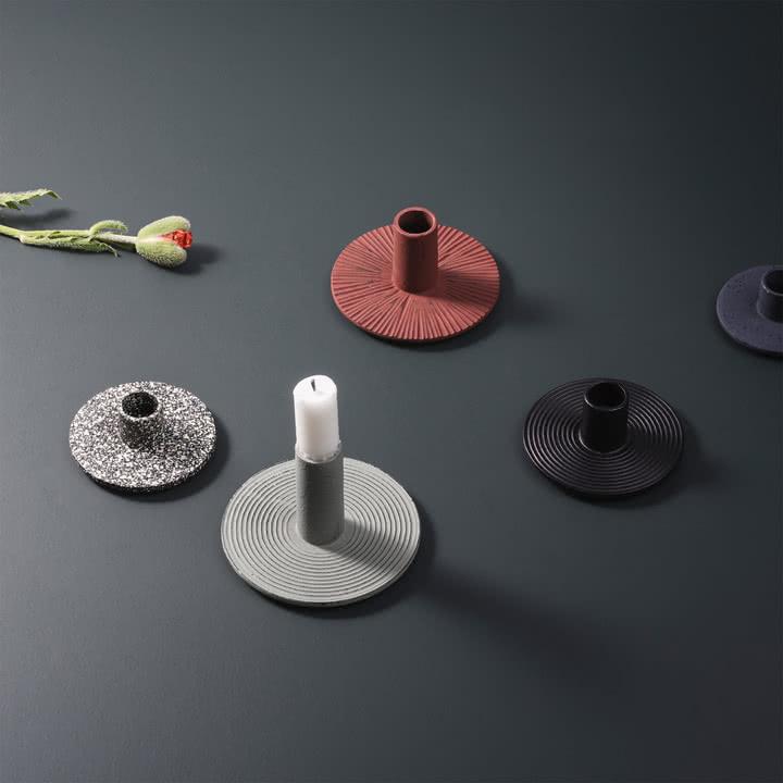 Cast Iron Kerzenhalter von ferm Living