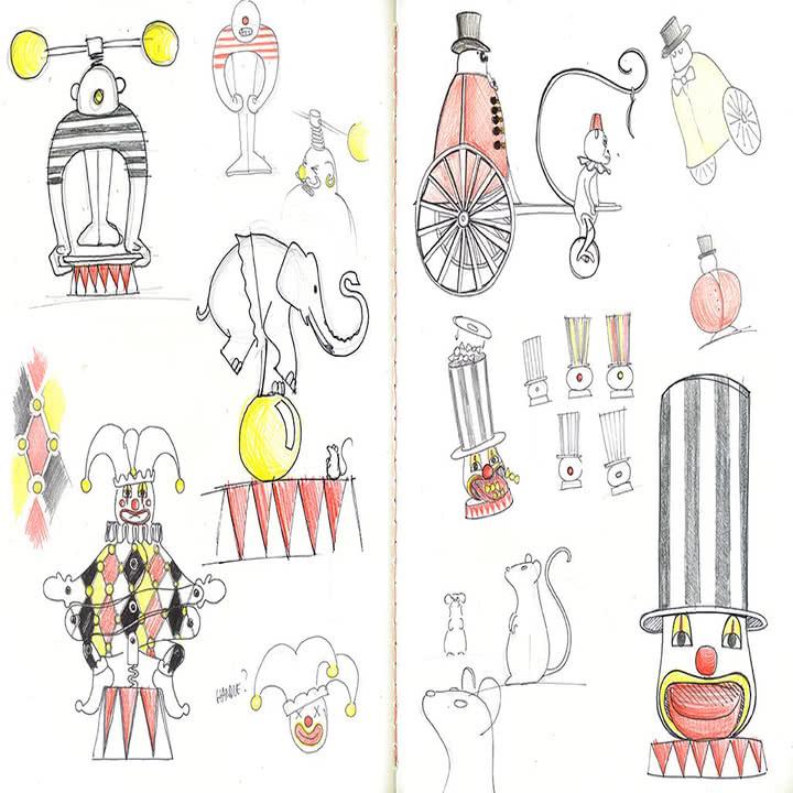 Circus Kollektion von Alessi