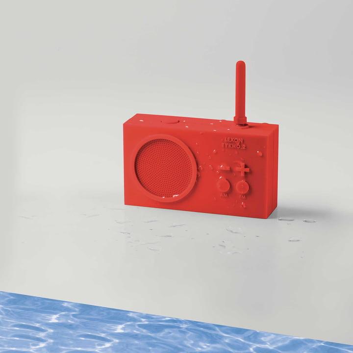 Tykho 2 Radio von Lexon in Rot
