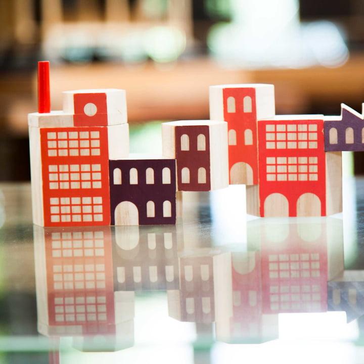 Blockitecture Spielzeug Holz-Architektur Factory von Areaware
