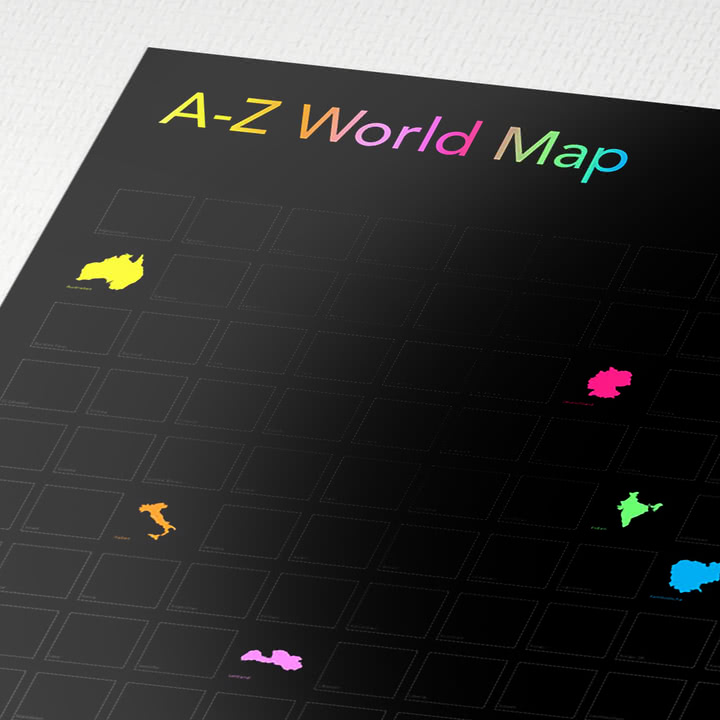 Awesome Maps - The World A-Z
