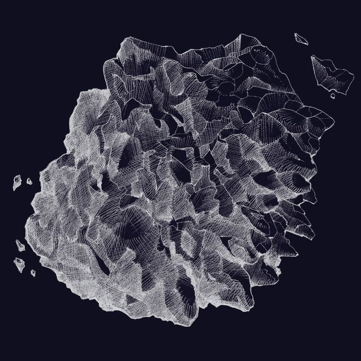 Paper Collective - 1:1 Hailstone(everest dark blue)