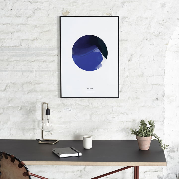 Blue Moon Poster von Paper Collective