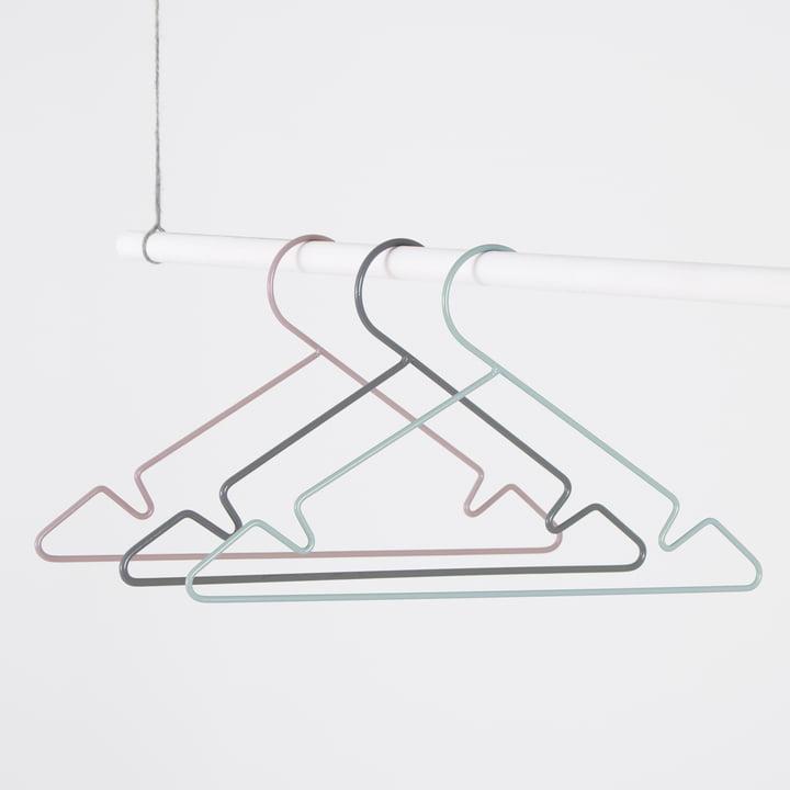 Metall Kinderkleiderbügel von Sebra