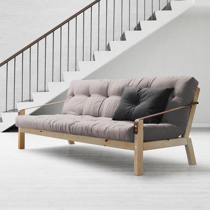 Poetry Sofa von Karup in Grau