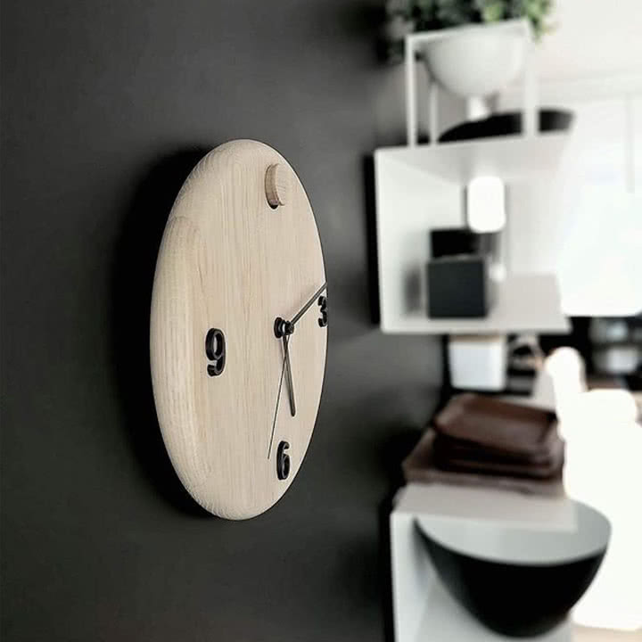 Wood Time Wanduhr von Andersen Furniture