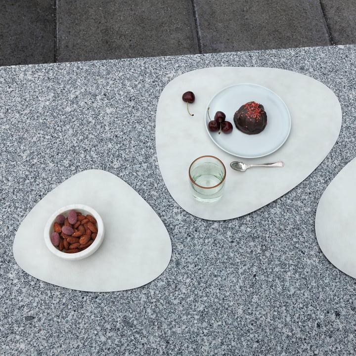 Weiße Table Mat Tischsets von LindDNA