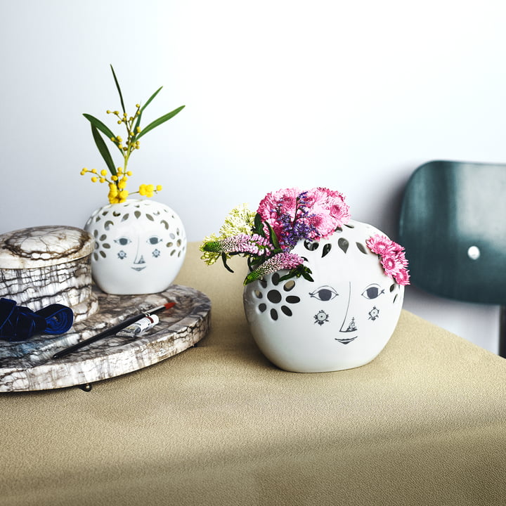 Blumenvase von Bjørn Wiinblad