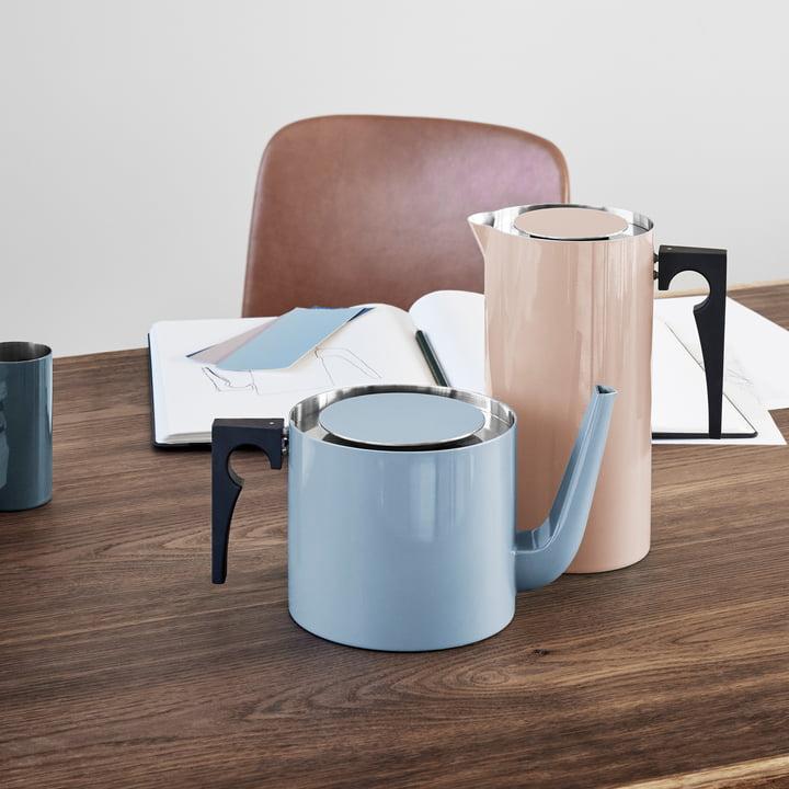 cylinda line teekanne 1 25 l von stelton. Black Bedroom Furniture Sets. Home Design Ideas