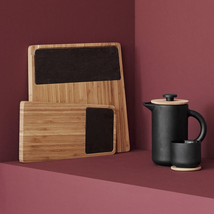 twin servierbrett von stelton connox shop. Black Bedroom Furniture Sets. Home Design Ideas