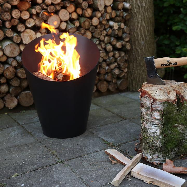 Fire Pot von Morsø in Schwarz