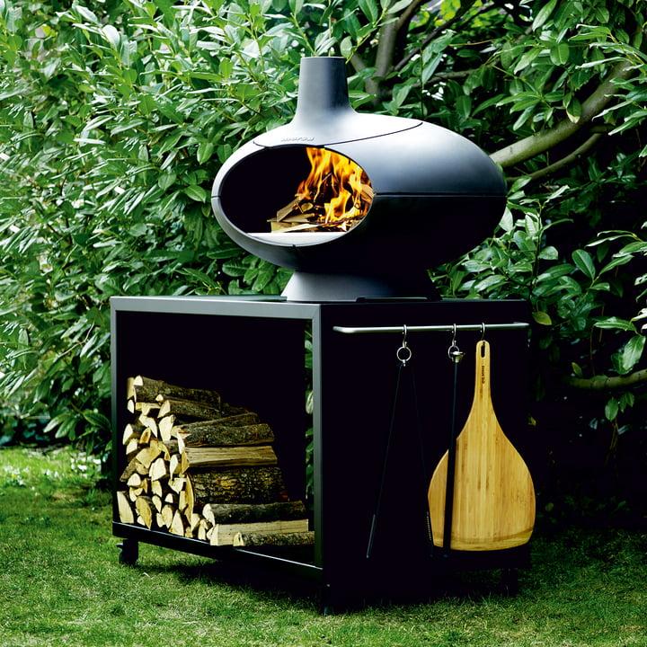 Forno Garden Grill- und Gartentisch mit Grillofen