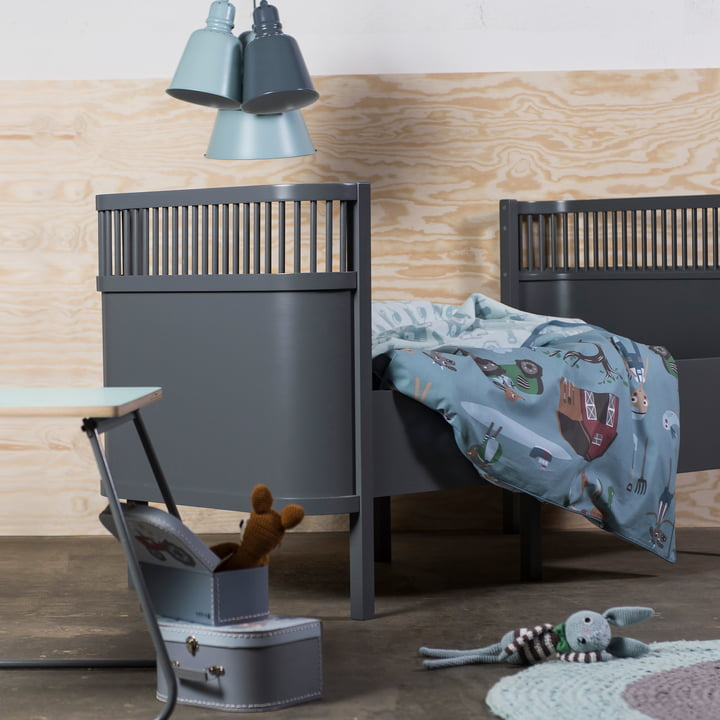 Das Sebra Bett Baby & Junior mit Farm Kollektion