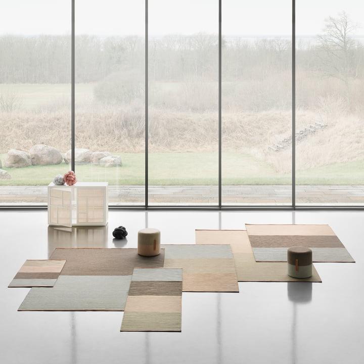 fields pouf von design house stockholm. Black Bedroom Furniture Sets. Home Design Ideas