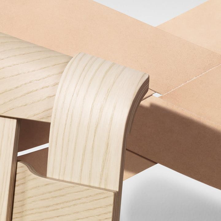 Torso und Wick Stuhl von Design House Stockholm