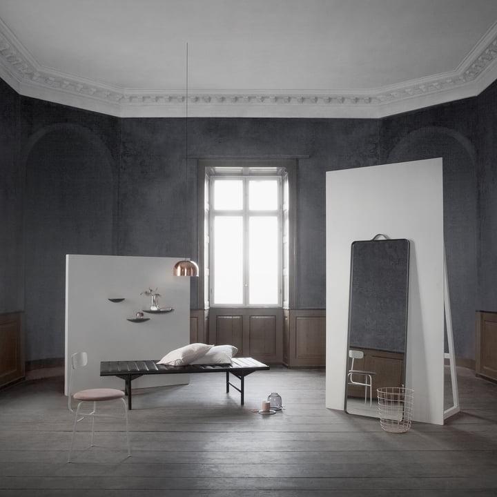 Gm Wohndesign: Norm Floor Spiegel Von Menu