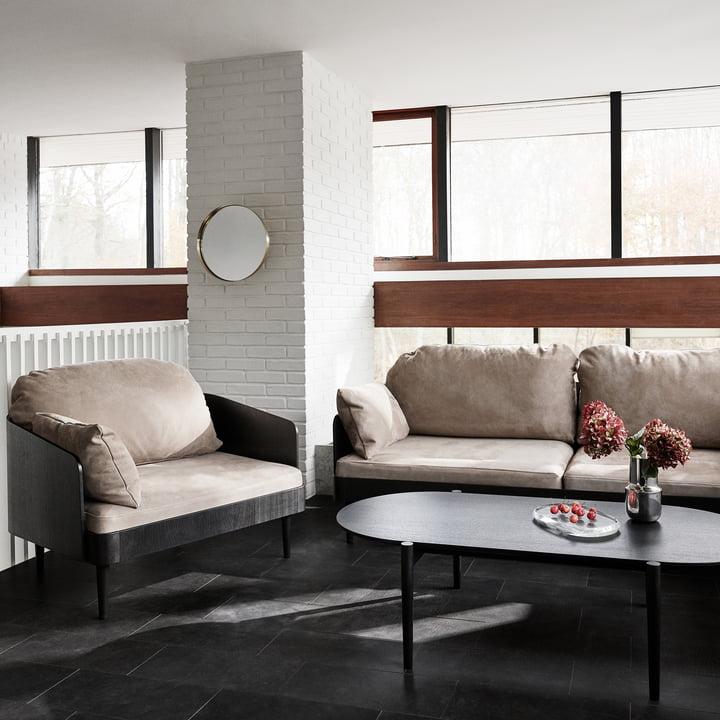 Bequemes Sofa von Menu für Ihr Zuhause