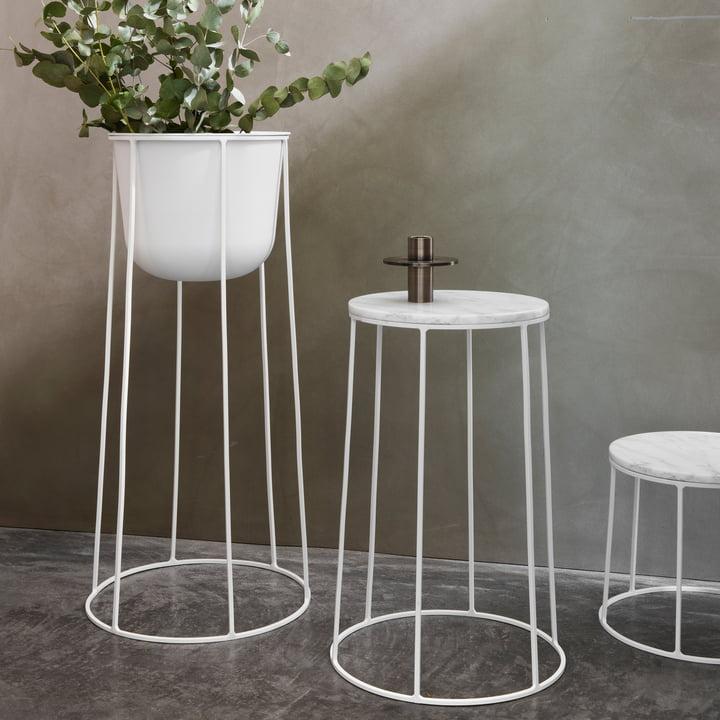 Die Wire-Serie von Menu in Weiß