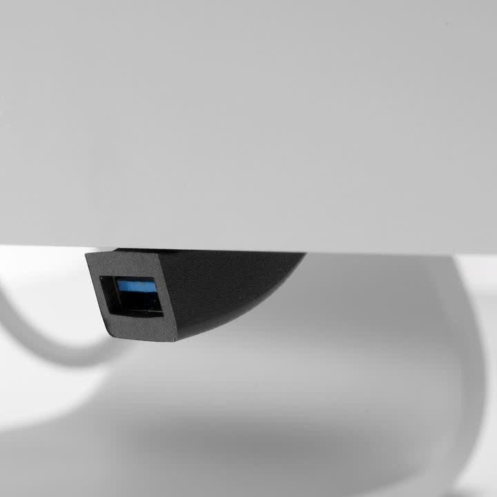 BlueLounge - Jimi USB Port Extension, schwarz