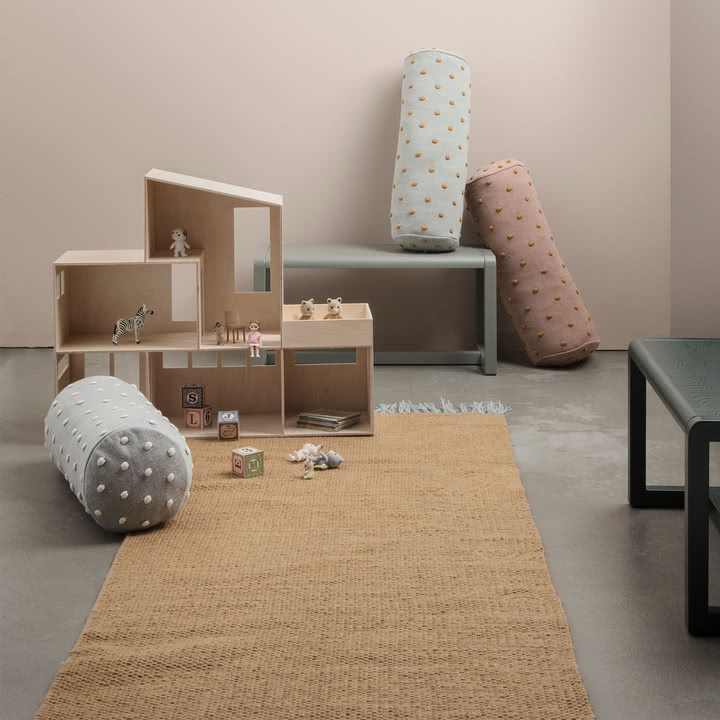 ferm Living - Nomad Teppich, curry