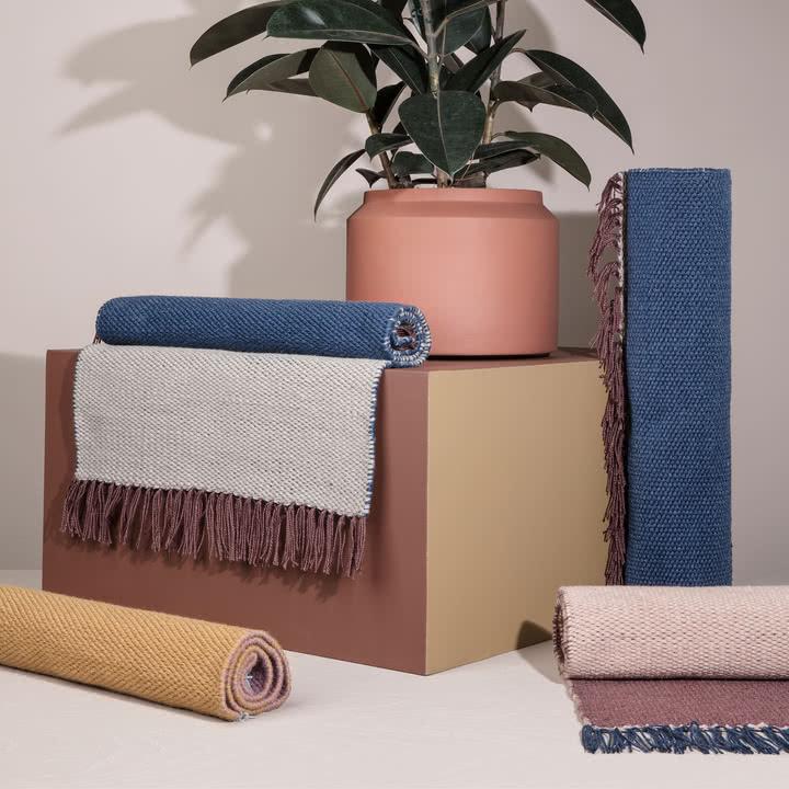 nomad teppich small ferm living shop. Black Bedroom Furniture Sets. Home Design Ideas