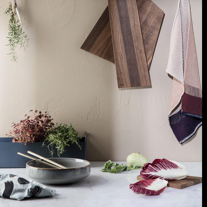 Akin Knitted Geschirrtuch und Plant Box