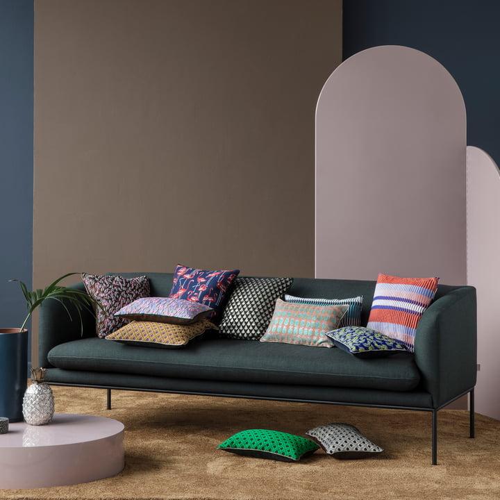 salon kissen rechteckig von ferm living connox. Black Bedroom Furniture Sets. Home Design Ideas