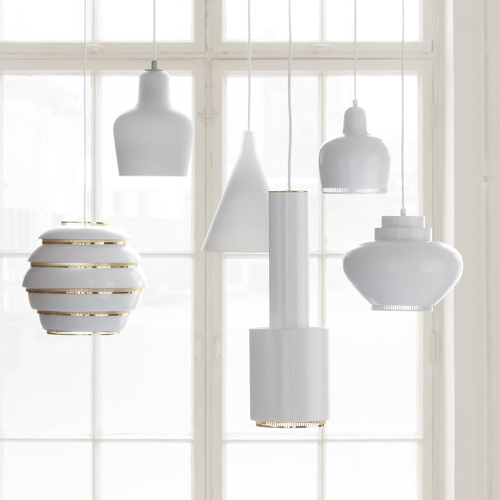 Leuchten vol Alvar Aalto für Artek