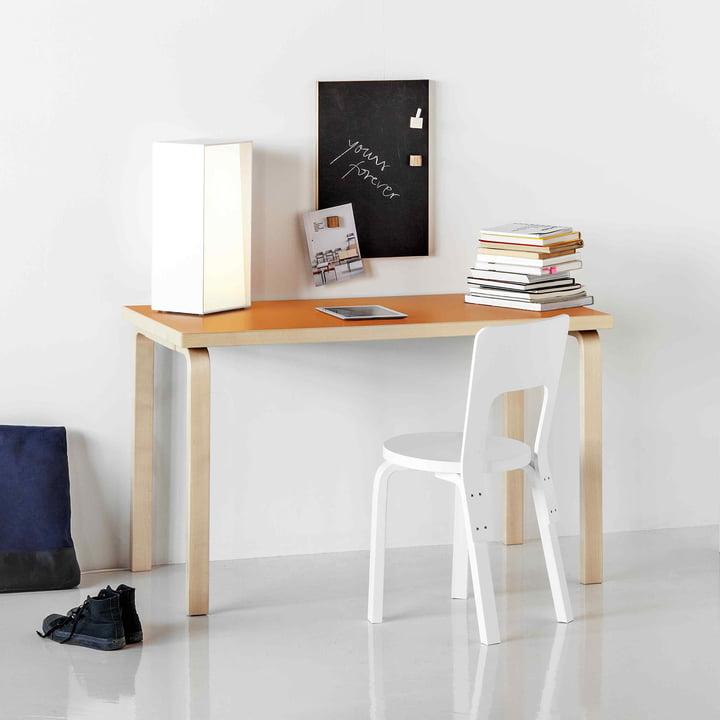 80A + 80B Tisch von Artek