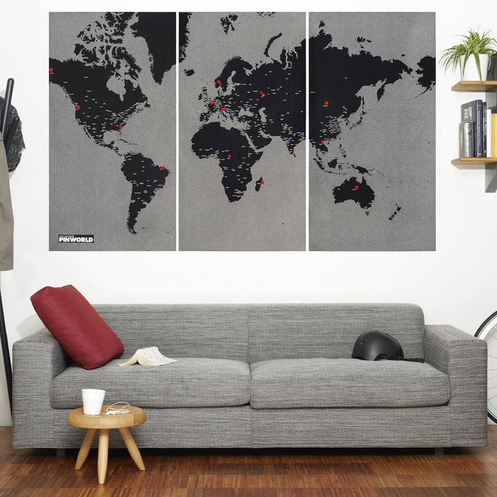 Die Palomar - Pin World in schwarz, extra large