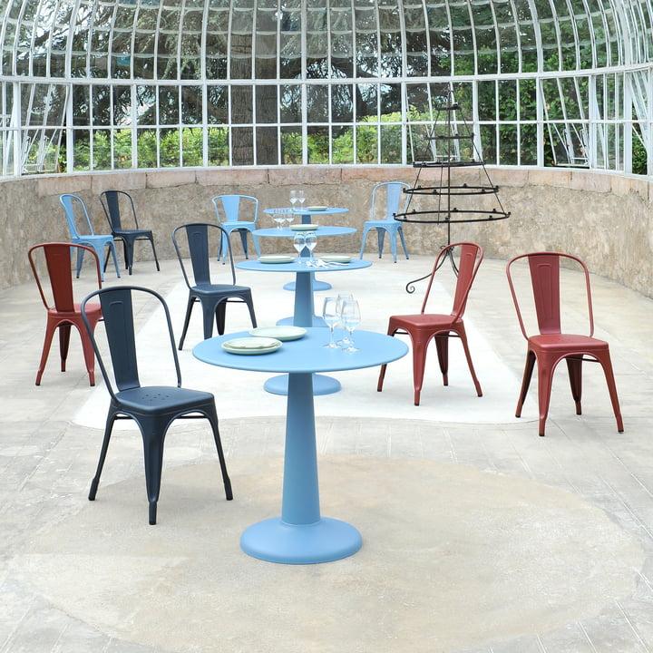 Farbiger A Chair von Tolix