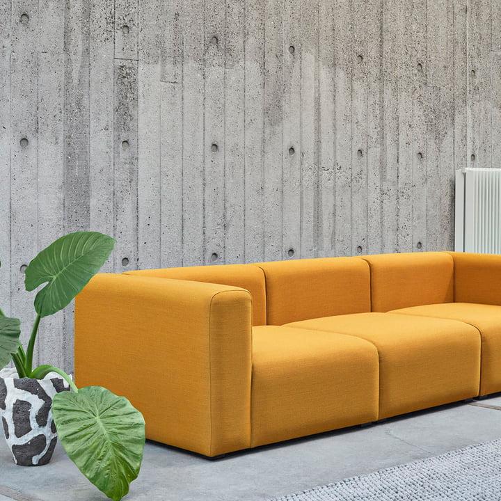 Das Hay - Mags Soft Sofa 3-Sitzer Steelcut Trio 446
