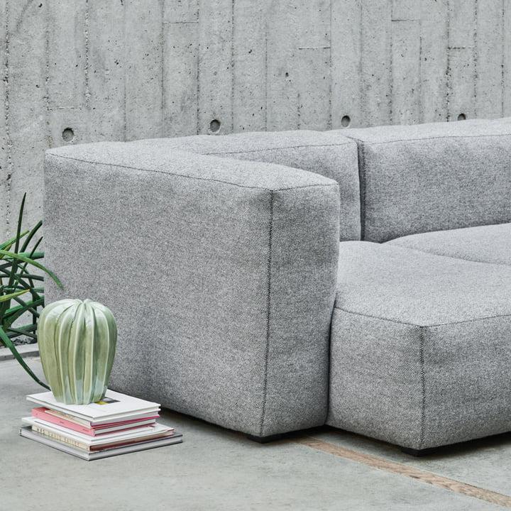 Das Hay - Mags Soft Sofa 3-Sitzer Hallingdal 116 mit Cacti