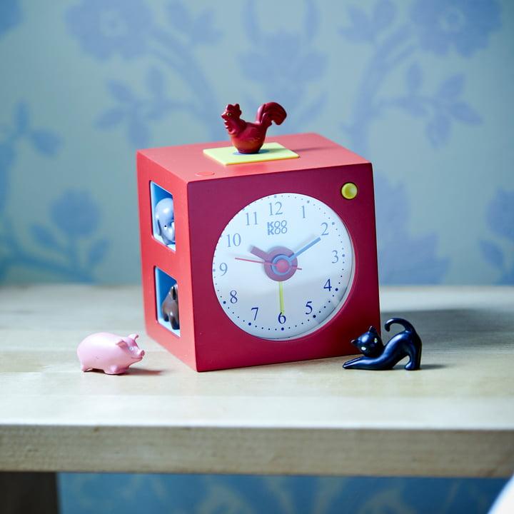 KidsAlarm von KooKoo in Rot