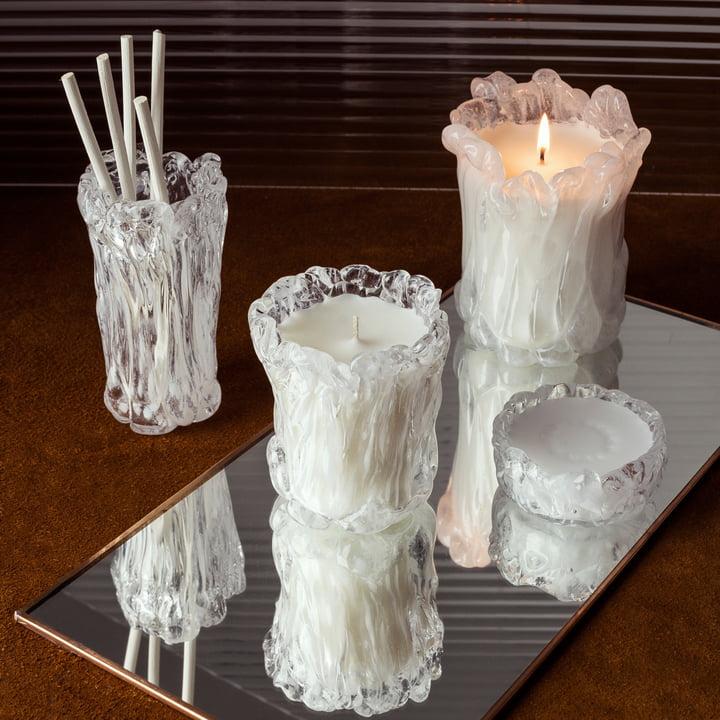 Materialism Kerzen Quartz von Tom Dixon