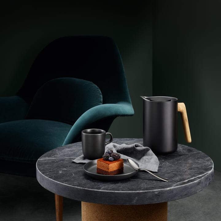 Eva Solo - Nordic Kitchen Isolierkanne, Eiche / schwarz