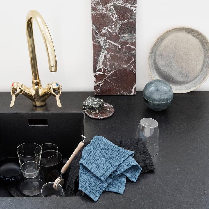 leinen sp ltuch von georg jensen damask. Black Bedroom Furniture Sets. Home Design Ideas