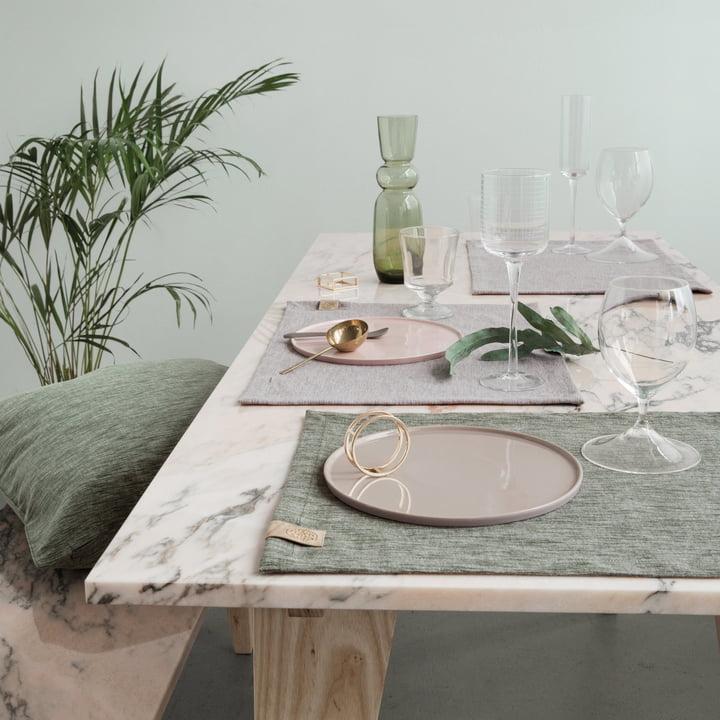 base tischset von georg jensen damask kaufen. Black Bedroom Furniture Sets. Home Design Ideas