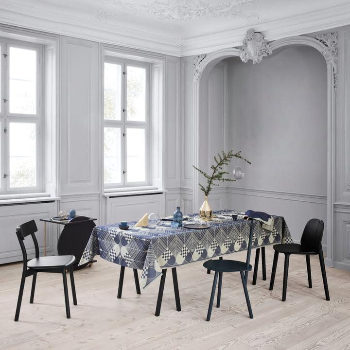 weihnachts tischdecke von georg jensen damask. Black Bedroom Furniture Sets. Home Design Ideas