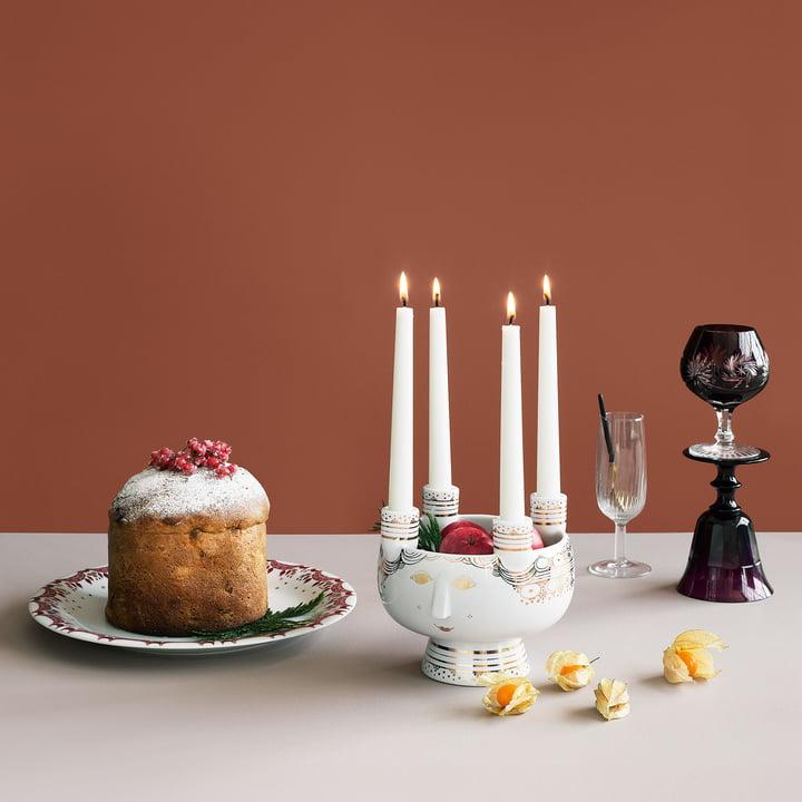 Kerzenständer Lucia von Bjørn Wiinblad