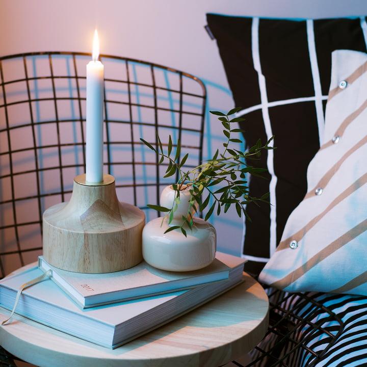 Stämpel Kerzenhalter von Marimekko