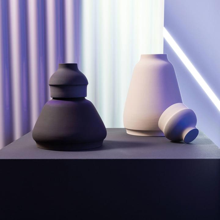 MakeupVase und Aubewahrungsbehälter von Pulpo