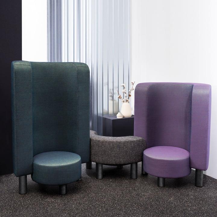Der Pulpo - Boom, Pow und Kaboom Chair in Kombination