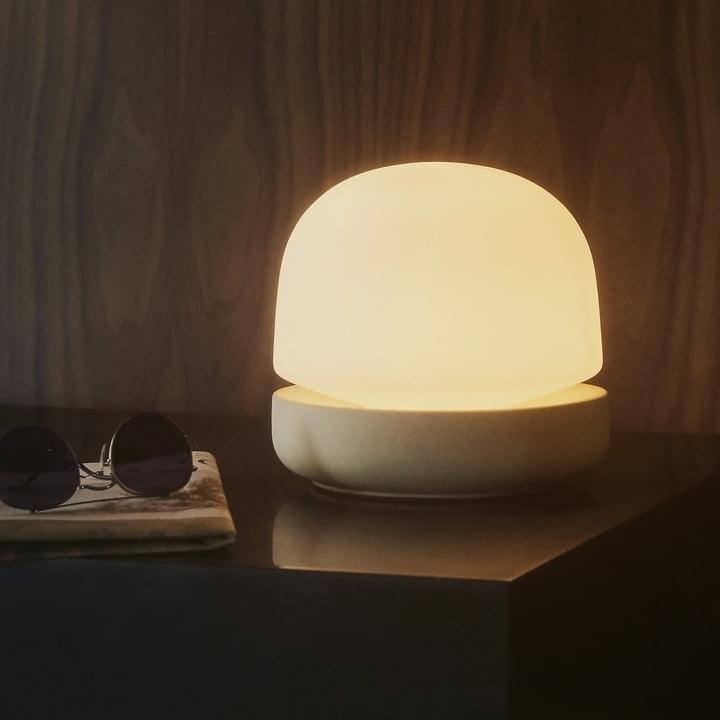 Stone Lamp Tischleuchte von Menu in Sand